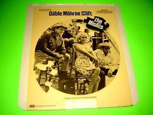 The Misfits RCA Selectavision Video Disc CED VideoDisc Marilyn Monroe