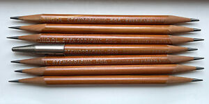 Vintage Eberhard Faber Mongol No. 596 Stenographic Pencils w/Point Protector 6