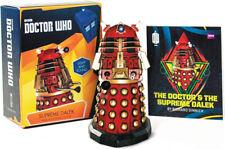 "Doctor Who: Supreme Dalek - Mega Kit (3"" Figure) w/ mini-book, sci-fi toy, New"