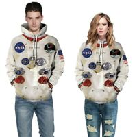 Armstrong Space Suite Hoodies Men Women Casual Astronaut Sweatshirt Streetwear