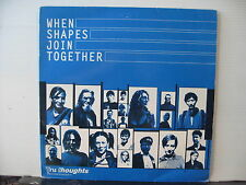 Various WHEN SHAPES JOIN TOGETHER Tru Thoughts DOUBLE VINYL LP Free UK Post