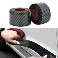 Car Stickers 5D Carbon Fiber Rubber Styling Door Sill Protector Goods Trim Cover