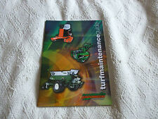RANSOMES JACOBSEN RYAN BROCHURE TURF EQUIPMENT BROCHURE