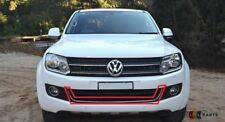 NEW GENUINE VW AMAROK 13-16 FRONT BUMPER CENTRE LOWER GRILL TRIM CHROME