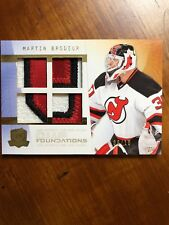 2009-10 UD The Cup Foundations Patch Gold SSP #CF-MA Martin Brodeur 6/10