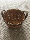 Longaberger Booking Basket ~ American Work Basket ~ Miniature
