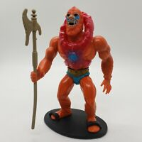 Mattel Masters of the Universe Beast Man with Armor Castle Axe Figure MOTU 1982