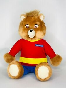 Vintage 1998 YES!! New World of Teddy Ruxpin Teddy Bear Untested For Parts
