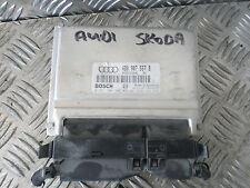 1998 AUDI A6 1.8 TURBO 20V ENGINE MANAGEMENT ECU 4B0907557B  0261204806