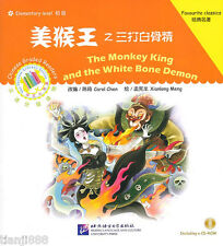 The Monkey King and the White Bone Demon - Chinese Graded Readers (with 1CD)