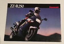 Kawasaki  ZZR250 4 page brochure EX250-H1