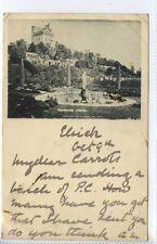 (Ga098-367) Drummond Castle, Crieff 1902 Used G-VG
