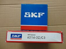 SKF BEARING - PART# 6214-2Z/C3 - 1 PC. NEW