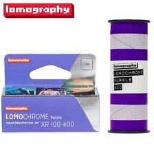 NEW Lomography LomoChrome Purple XR 100-400 ISO 120 Color Negative Film