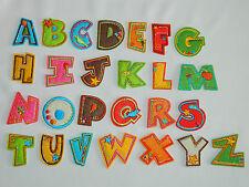 Applikation Bügelbild Aufnäher Name ABC Buchstabe Buchstaben Namen je Stück