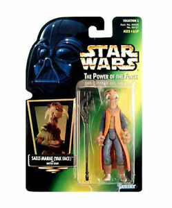 Star Wars The Power of the Force Saelt-Marae Yak Face Action Figure NIP Kenner