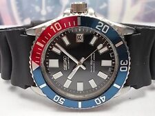SEIKO 10BAR DIVER DATE AUTOMATIC MEN'S WATCH 7S26-0040, MODIFIED 6217/PEPSI