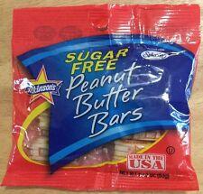 SUGAR FREE PEANUT BUTTER BARS ATKINSON CLASSIC CANDY USA