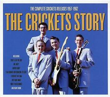 THE CRICKETS STORY - 2 CD BOX SET - THE COMPLETE CRICKETS RELEASES 1957 - 1962