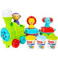 Juguete Creativo para Niños Fisher-Price Tren Moldes Y Plastilina 2733
