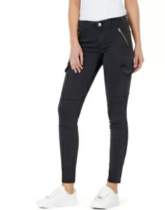 Numero Mid-Rise Utility Skinny Jeans MSRP $99 Size 27 # TR 738 NEW