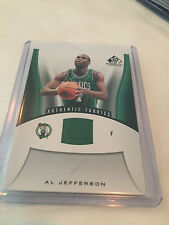 2006-07 Upper Deck SP Game Used Authentic Fabrics Al Jefferson Boston Celtics