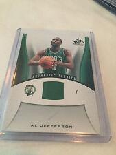 2006-07 Upper Deck SP Game Used Authentic Fabrics Al Jefferson Boston Celtics