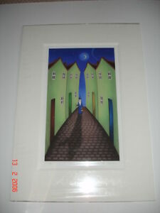 Paul Horton Limited Edition Print and matching Sculpture  GREAT anytime GIFT.