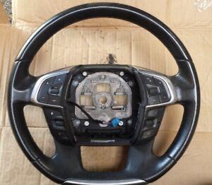 CITROEN C4 Multifunctional 4 Spoke Black Leather Steering Wheel 96754515ZD