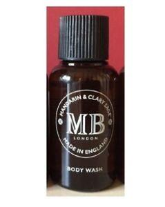 Molton Brown Mandarin & Clary Sage Body Wash 50 ml Travel size