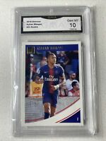 2018-19 Kylian Mbappe Panini Donruss Rated Rookie  #53 GEM MINT 10