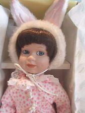 """Seymour Mann Connoisseur Collection Edition doll; Honey Bunny, 14"""" COA"""