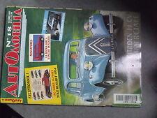 1µ? Revue Automobilia n°18 Peugeot 1937 Tout Renault 1934 Sunbeam Lotus Talbot