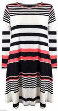 Unbranded Summer/Beach Striped Sleeveless Dresses for Women