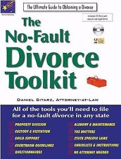BRAND NEW! The No-Fault Divorce Toolkit - Good In Any State! - Easy to use!