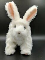 HASBRO FurReal Friends Hop N Cuddle White Bunny Rabbit Interactive Robotic Plush