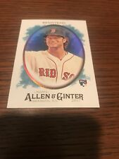 2017 Allen & Ginter Andrew Benintendi #237 SP Hot Box Foil RC Rookie