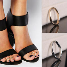 Retro Fashion Gift Silver Gold Toe Ring Adjustable Size Foot Ring Jewelry