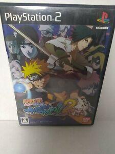 PS2 NARUTO Shippuden NARUTIMATE Axel 2 Japan Playstation 2 Japanese Version FUN