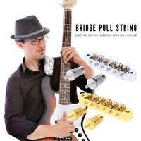 LP EPI Tune-O-Matic Roller Saddle Electric Guitar Bridge with Screws Tools Kits