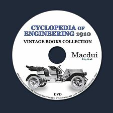 Cyclopedia of Engineering – Vintage E-books 7 Volumes PDF 1 DVD Engine Machines