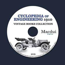 Cyclopedia of Engineering – Vintage E-books 7 Volumes PDF 1 DVD Engine Machines