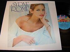 SYDNE ROME same / German LP 1980 TELDEC STRAND 6.24367 AP