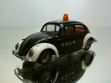 TEKNO DANMARK 819 VW VOLKSWAGEN BEETLE 1200 - POLIS - BLACK 1:43 - VERY GOOD