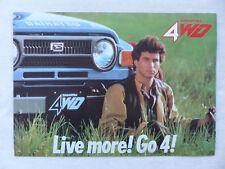 Daihatsu Taft 4x4 F50 F20 4WD - Prospekt Brochure 80er Belgien französisch