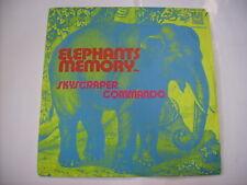 "ELEPHANTS MEMORY - SKYSCRAPER COMMANDO - 7"" VINYL ITALY 1971 EXCELLENT"