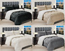 3-Pc Premium™ Quality Heavy Solid Sherpa Reversible Down Alternative Comforter