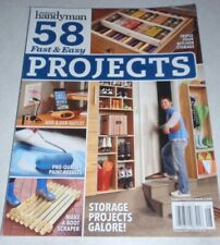 The Family Handyman Magazine 58 Fast & Easy Projects Around the Home  Storage