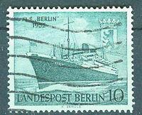 Berlin Briefmarken 1955 Motorschiff Berlin Mi.Nr.126