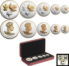 2016 A Historic Reign-Fractional Set of 5 Silver Maple Leaf coin.9999(NT)(17456)